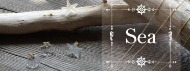 海にまつわるモチーフのSeaシリーズ